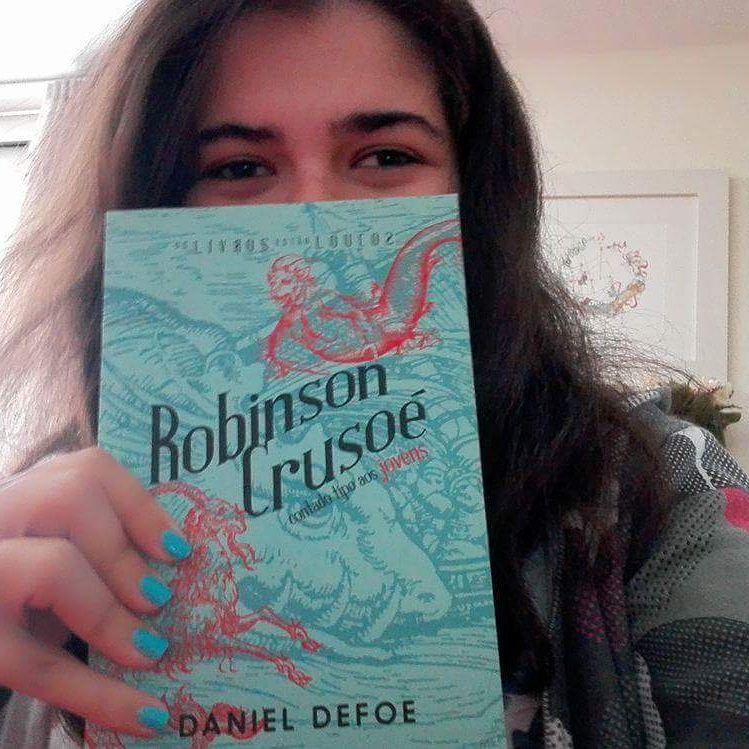 """""""Os livros estão loucos""""-Robinson Crusoé"""