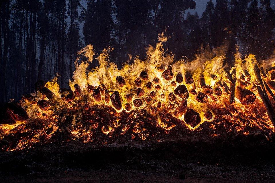 O bailado traiçoeiro das chamas…